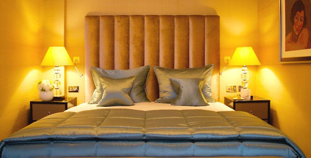 Descansarás en una habitación Superior o bien...