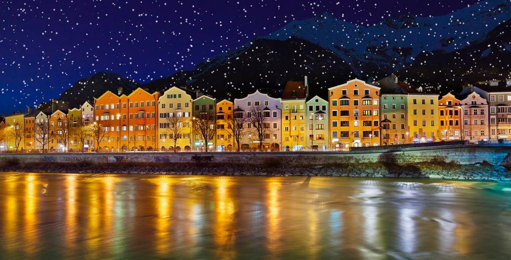 Una noche estrellada en Innsbruck