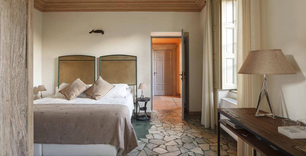 Hemos reservado para ti una habitación Deluxe