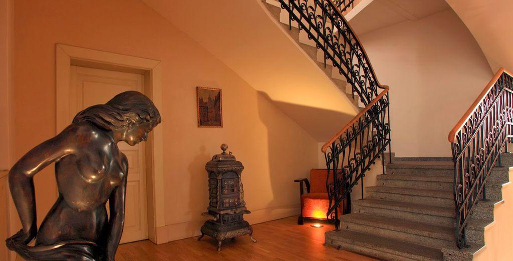 Déje que el romanticismo envuelva su estancia en Praga