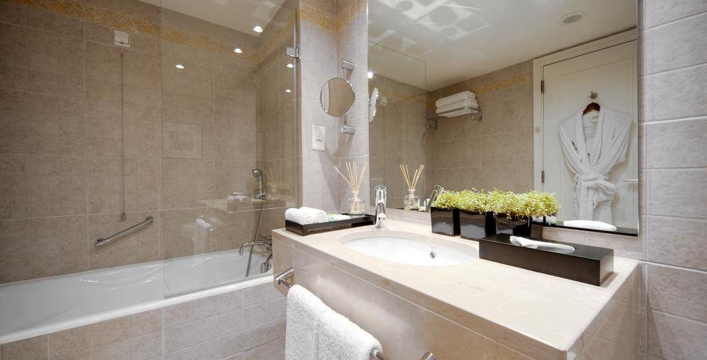 Un baño de lujo