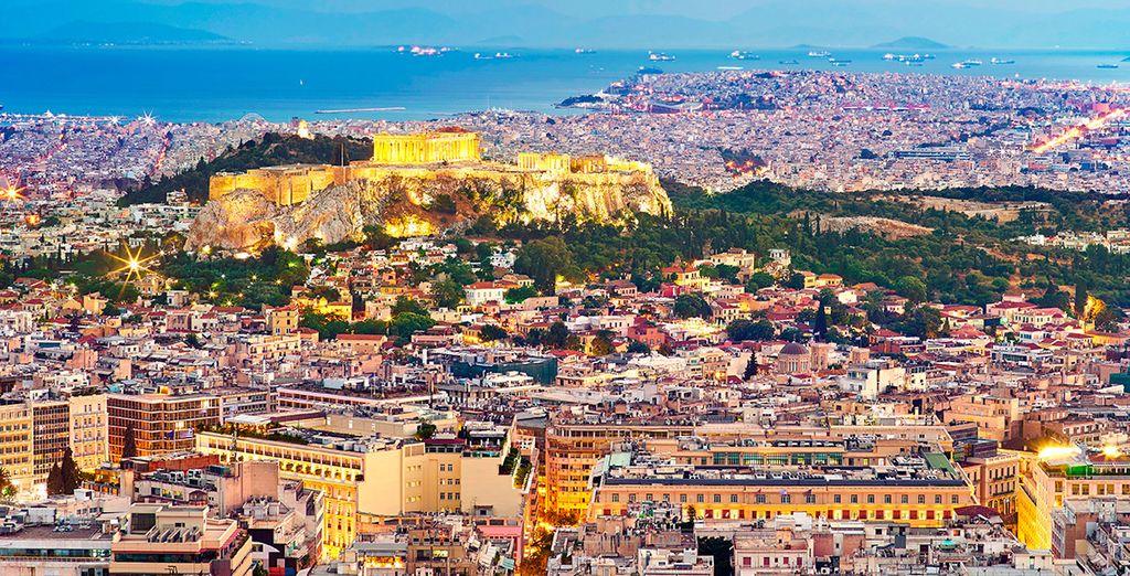 Descubre la histórica Atenas