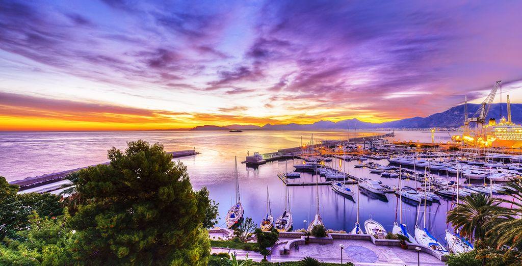 Palermo,  la ciudad más grande de Sicilia