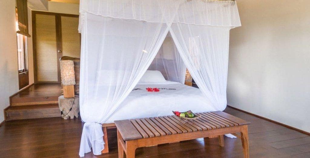 O bien descansa en el Naya Gawana 5*, tu opción de alojamiento Premium