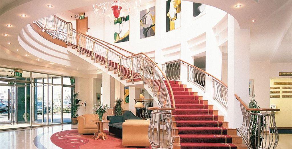 Alójese en el Red Cow Moran Hotel 4* en Dublín
