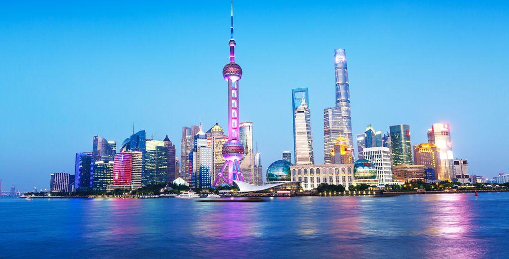 La espectacular ciudad de Shanghai