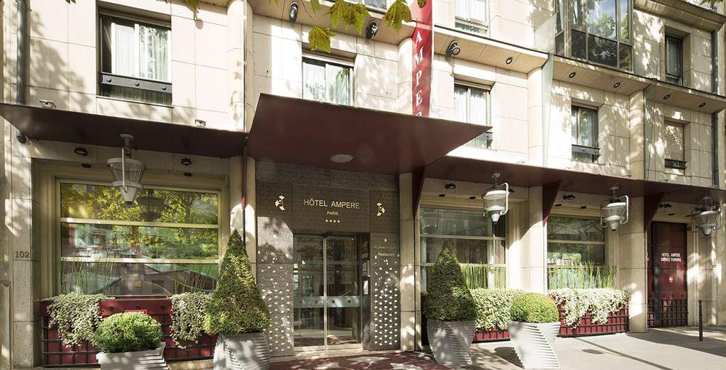 Hotel Ampère te la bienvenida a París