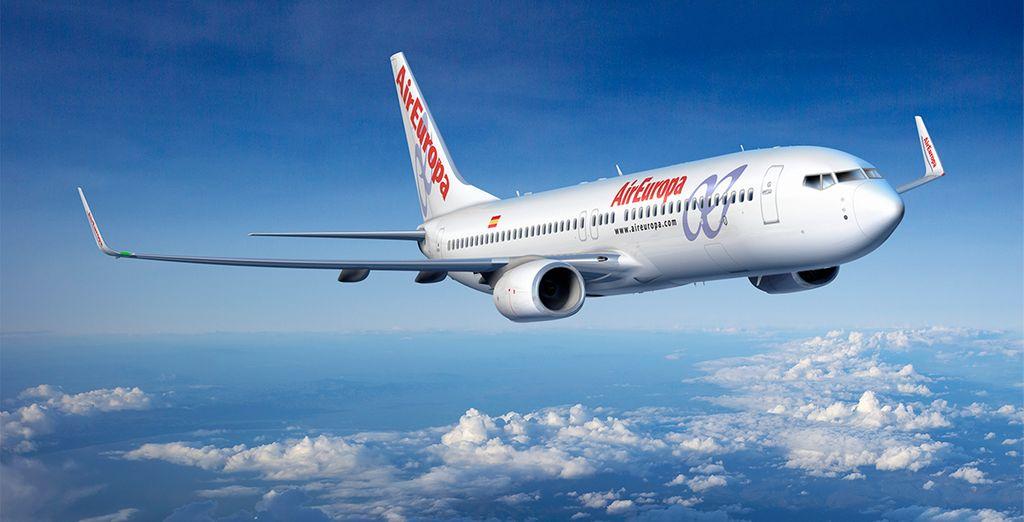 Air Europa posee los más altos estándares de seguridad y calidad