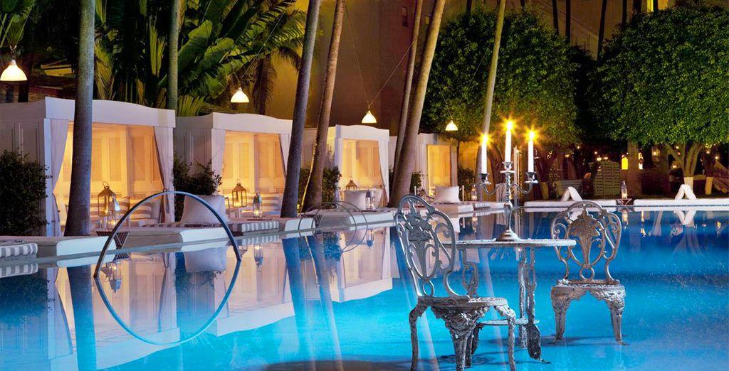 El Hotel Delano South Beach ofrece una experiencia única