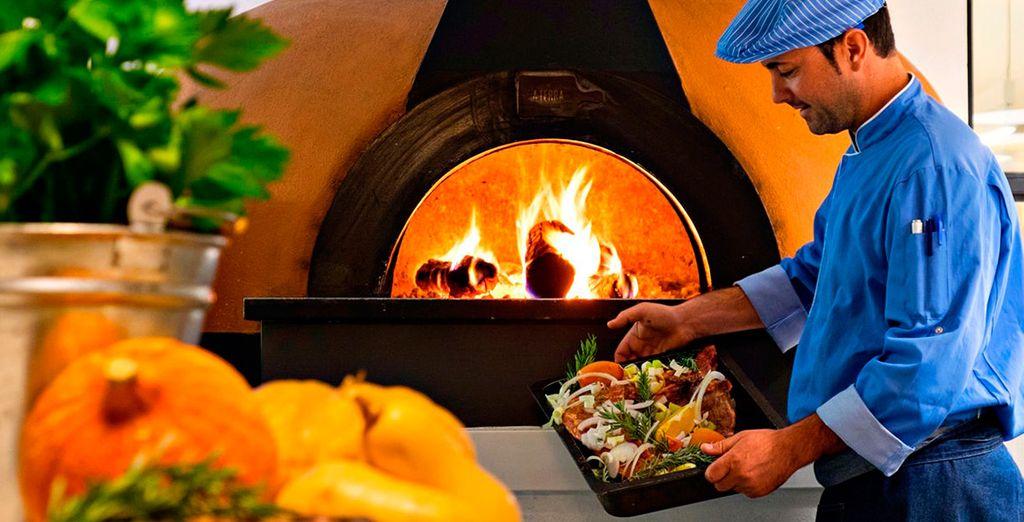 Disfrute de la gastronomía portuguesa...