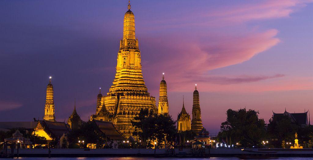 Visite los iconos de la capital tailandesa