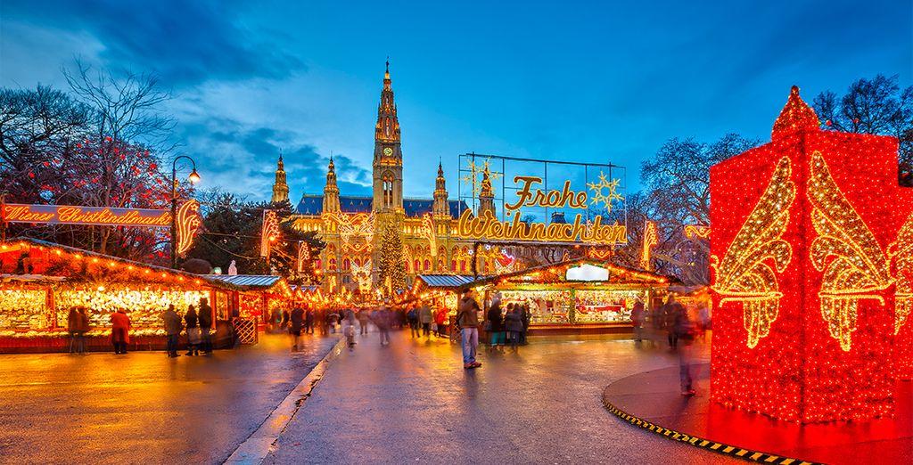 Escápese a Austria para ver los románticos mercados de Navidad y la magia del Adviento
