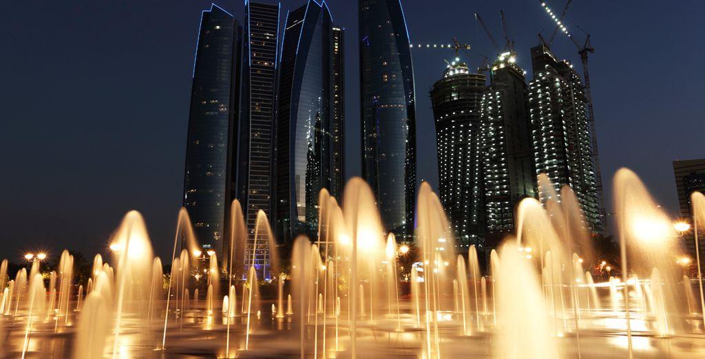 Otro milagro de la modernidad, Abu Dhabi
