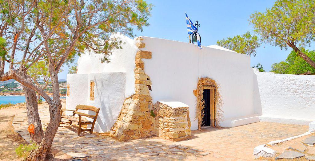 La iglesia de Agios Georgios Sarantis, en la vecina Annisaras