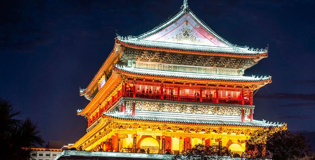 Visitarás la ciudad de Xian...