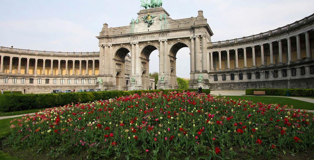 El Arco de Triunfo belga