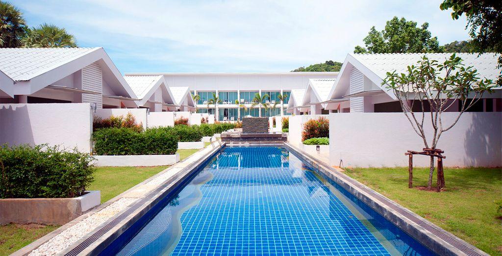 Se hopspedará en el hotel The Palmery Resort and Spa 4*
