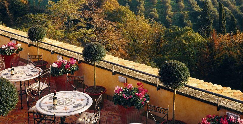 Saborea la bella Italia en Castello della Castelluccia 4*