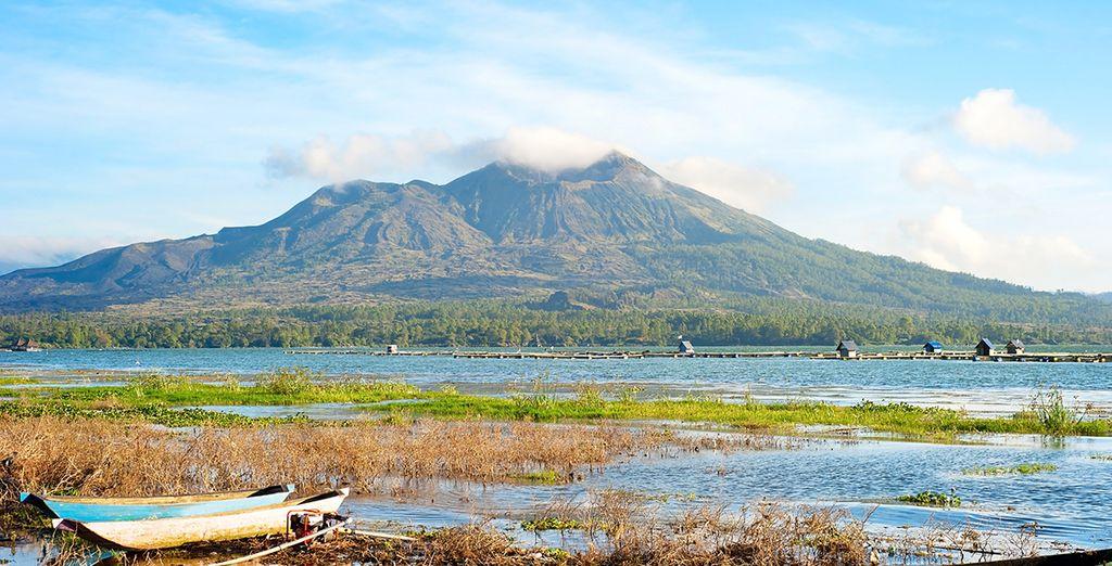 Visita el volcán Batur, el más activo de Bali, en Kintamani