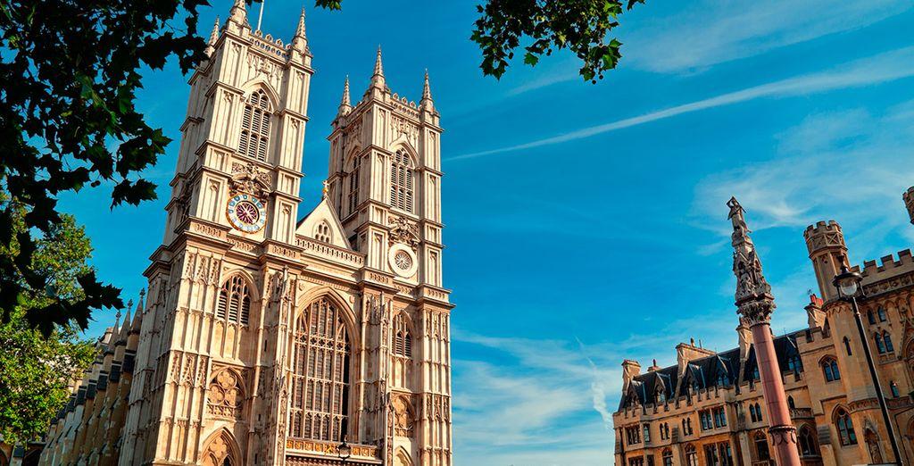 ...y a la Abadía de Westminster