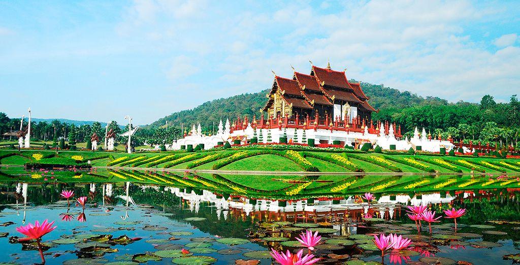 Maravíllese con los alrededores de Chiang Mai