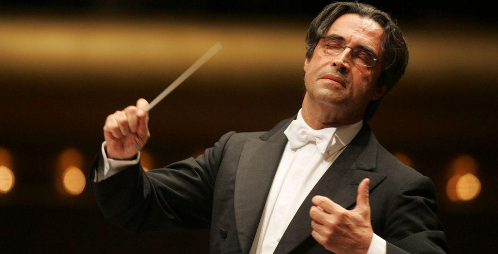 El director Riccardo Muti