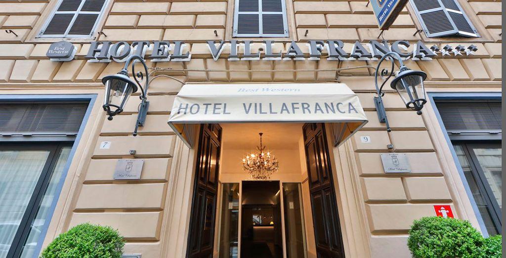 Bienvenido al Best Western Villafranca