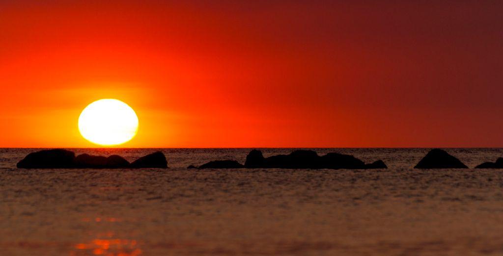 ...que te regalará las mejores puestas de sol