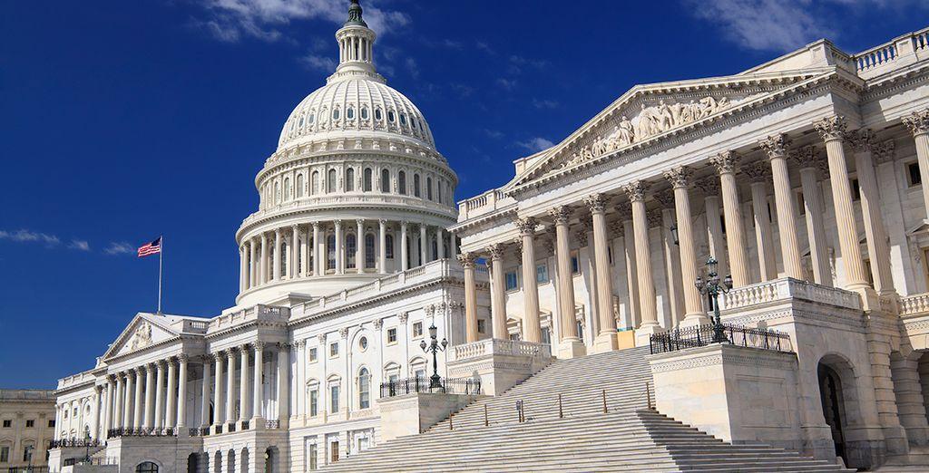 Comenzarás tus vacaciones en Washington