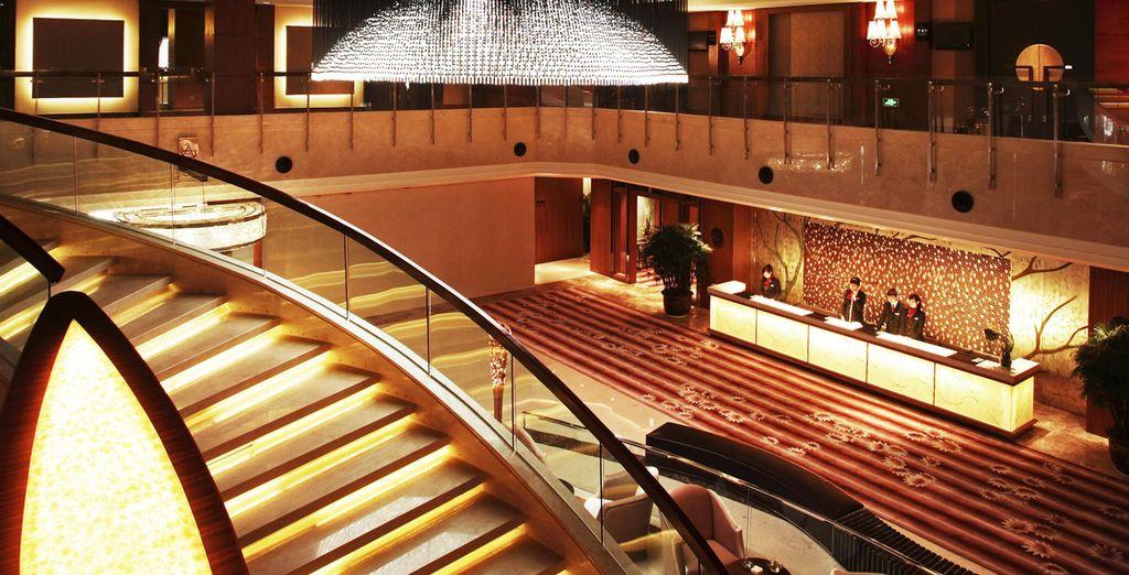 Te alojarás en el Hotel Grand Noble Xian 4*