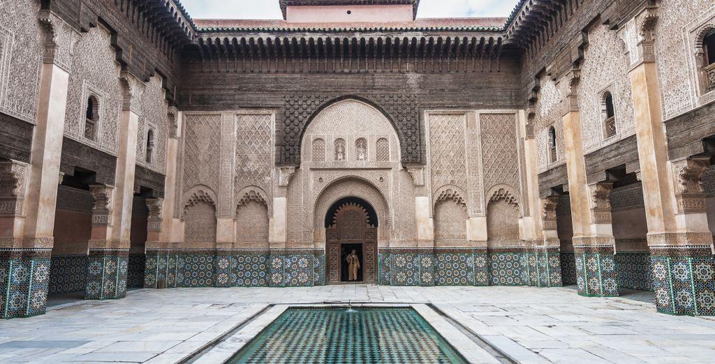 Combina Marrakech y Casablanca