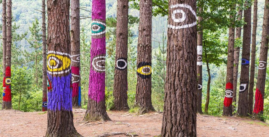 Aprovecha tu estancia en Euskadi para descubrir el encantado Bosque de Oma. ¡Te sentirás observado!