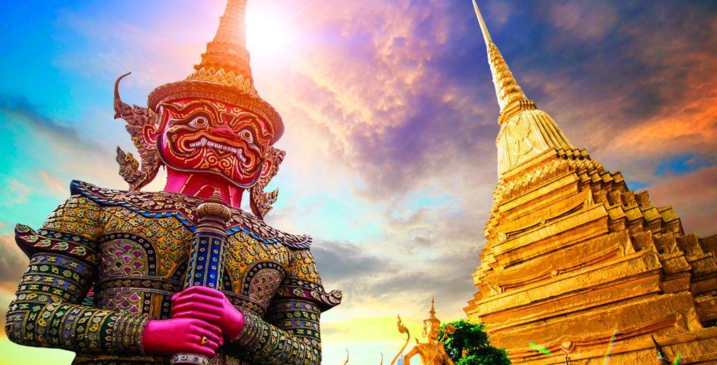 Visita los tesoros de Bangkok