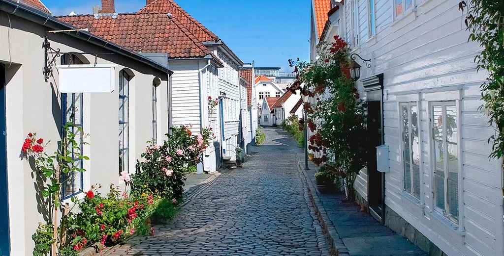 Tu primera parada será en la acogedora Stavanger