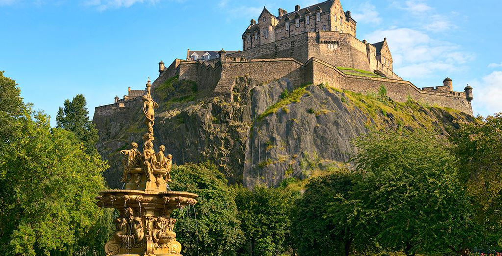 Bienvenido a Edimburgo