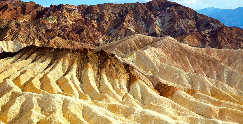 La región desolada de Death Valley