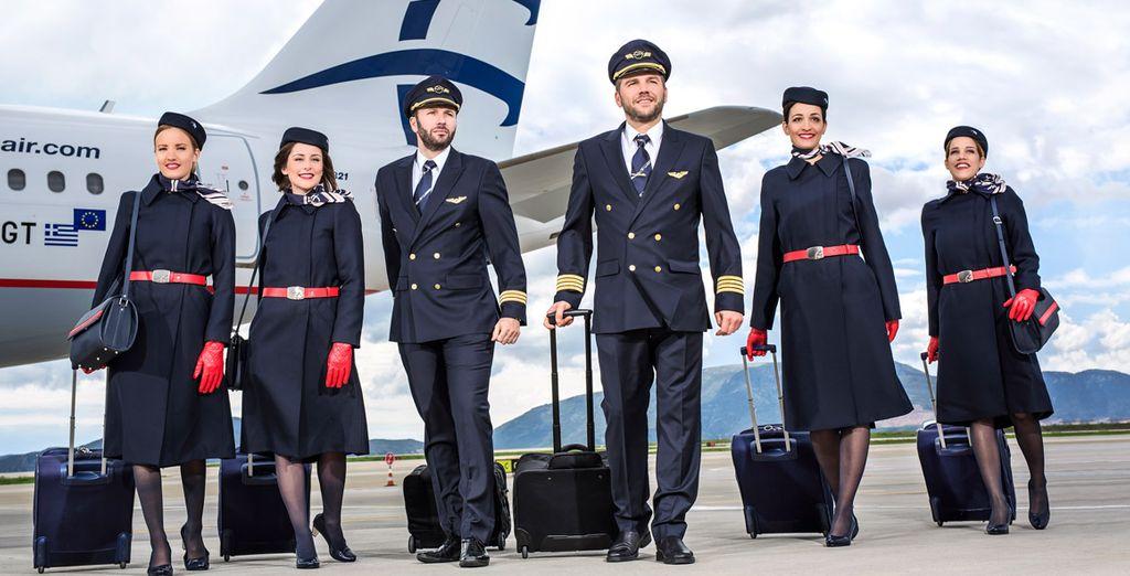 """Aegean fue votada """"Mejor Aerolínea Regional de Europa"""" en una encuesta mundial en la que participaron más de 18 millones de pasajeros"""