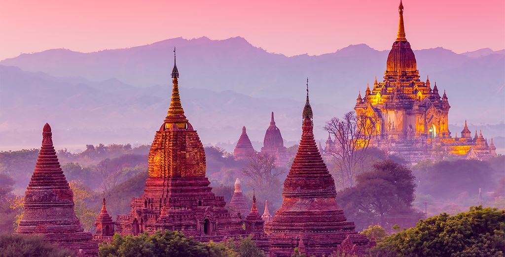 Antiguos templos de Bagan