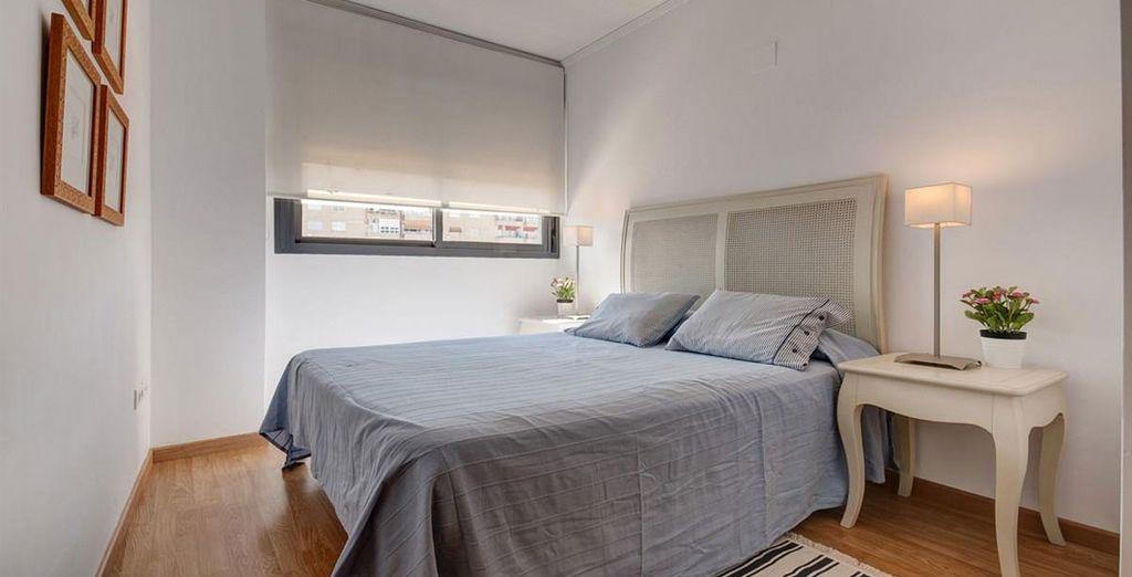 Apartamento 3: un segundo dormitorio amplio y luminoso