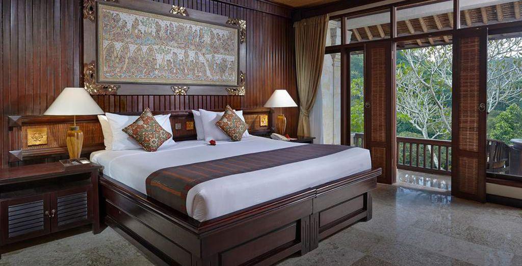 El Tjampuhan Ubud 4* será tu opción de alojamiento Superior en Ubud