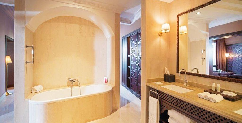Baños completos y totalmente equipados