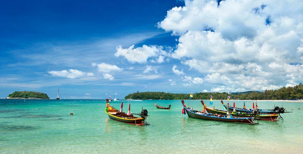 Próximo destino: el paraíso de Phuket