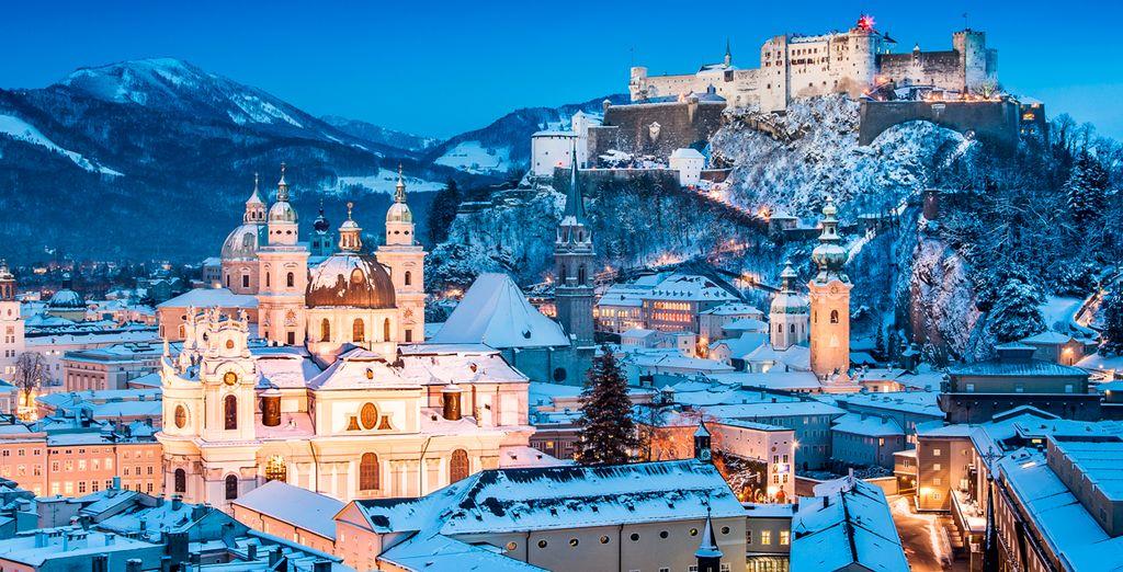 Un ambiente navideño en Salzburgo