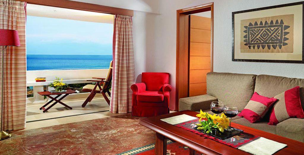 O en una Suite con vistas al mar