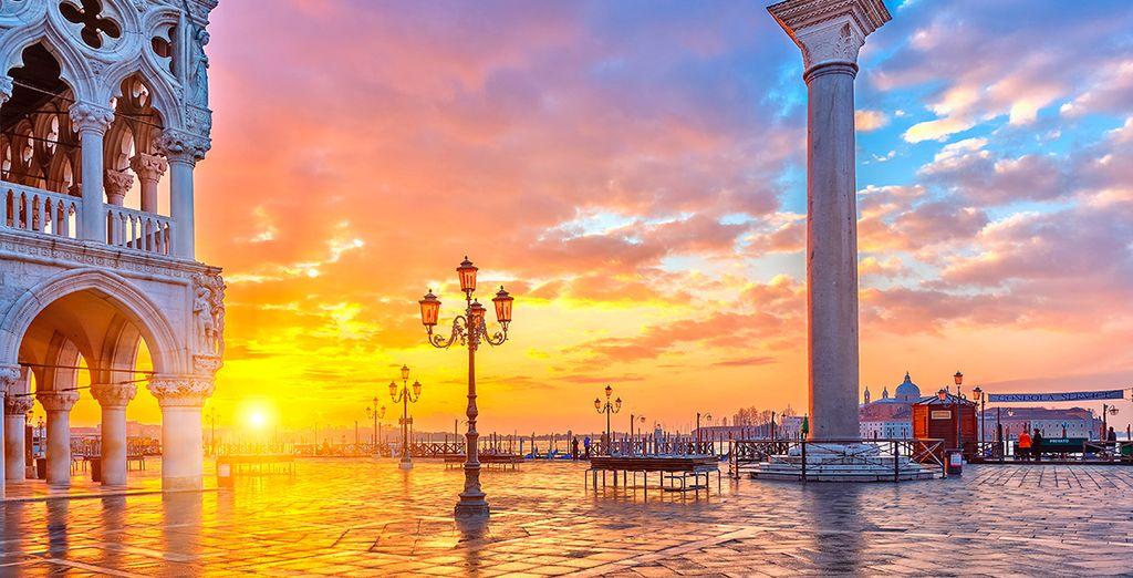 Descubra la romántica Venecia