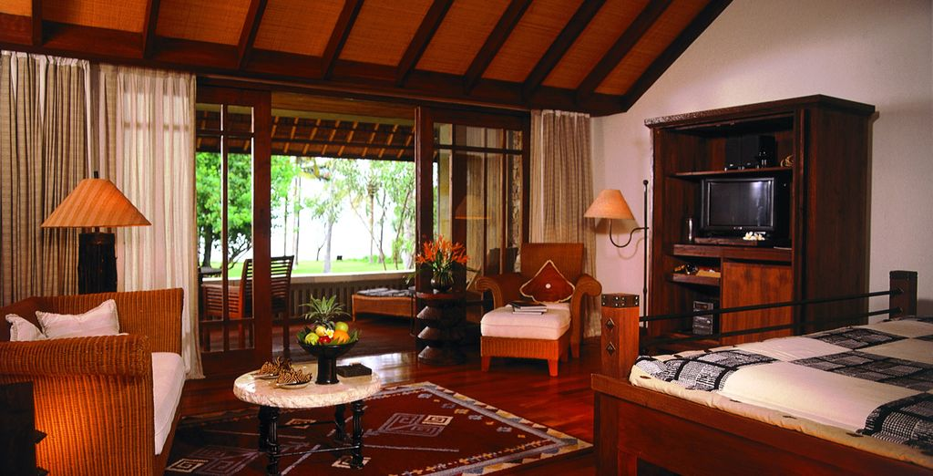 Su habitación Luxury Pavilions Vistas Oceano le espera