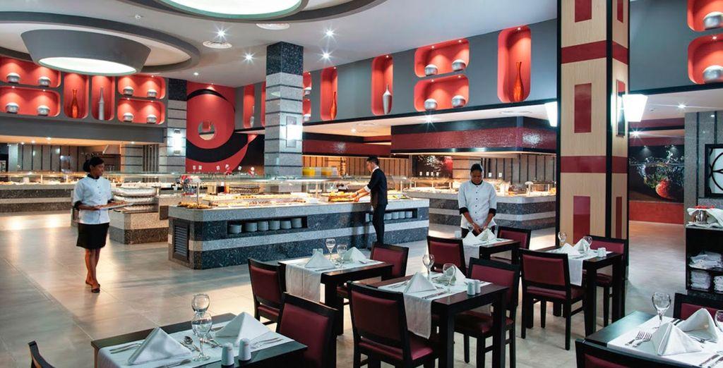 Un sin fin de restaurantes para degustar comida local
