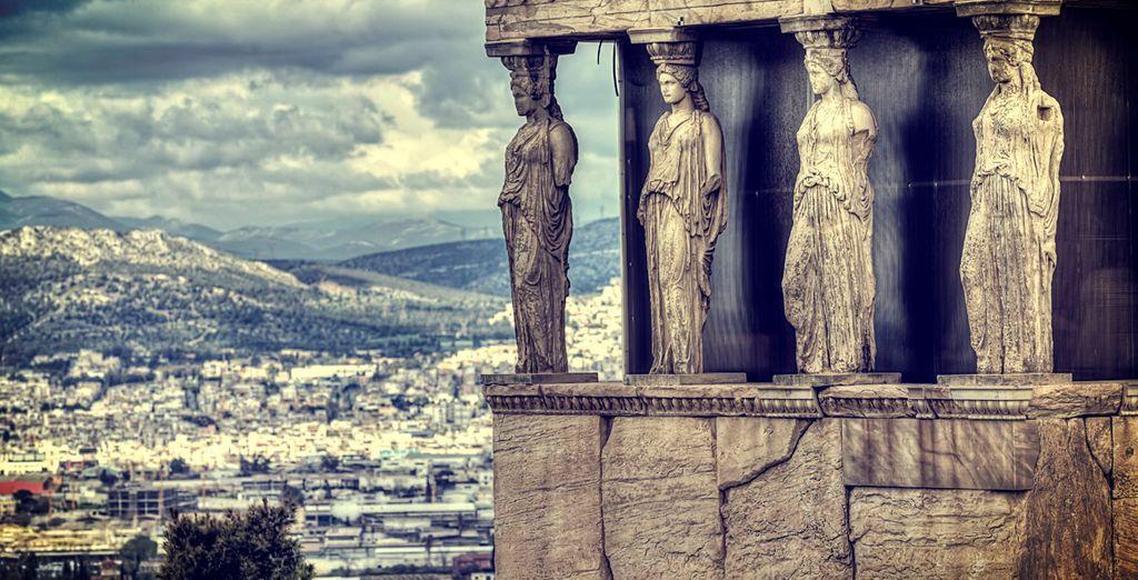 El templo de las Nereidas en El Acrópolis