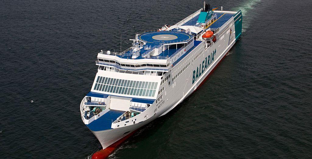 ¡Sube a bordo de Balearia y descubre Mallorca!