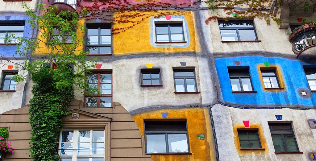 La increíble Casa de Hundertwasser le impresionará